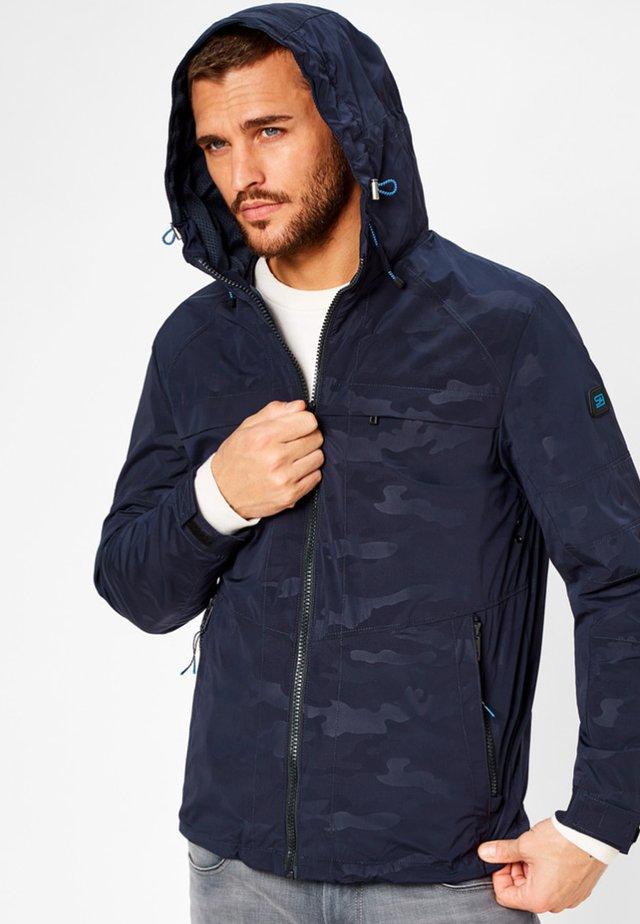 TROUBLE - Outdoor jacket - navy