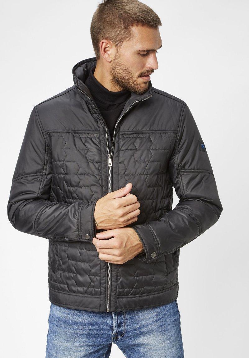 S4 Jackets - WAYNE  - Winter jacket - black