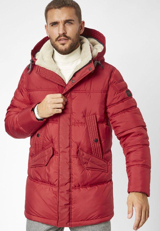 WIND  - Winter coat - racing red
