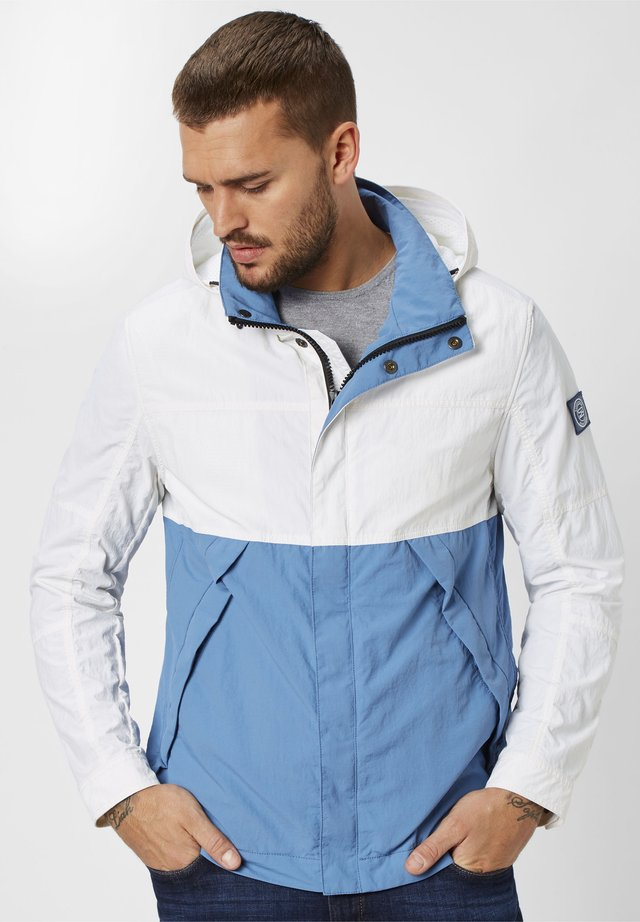 Summer jacket - arctic white/ice blue