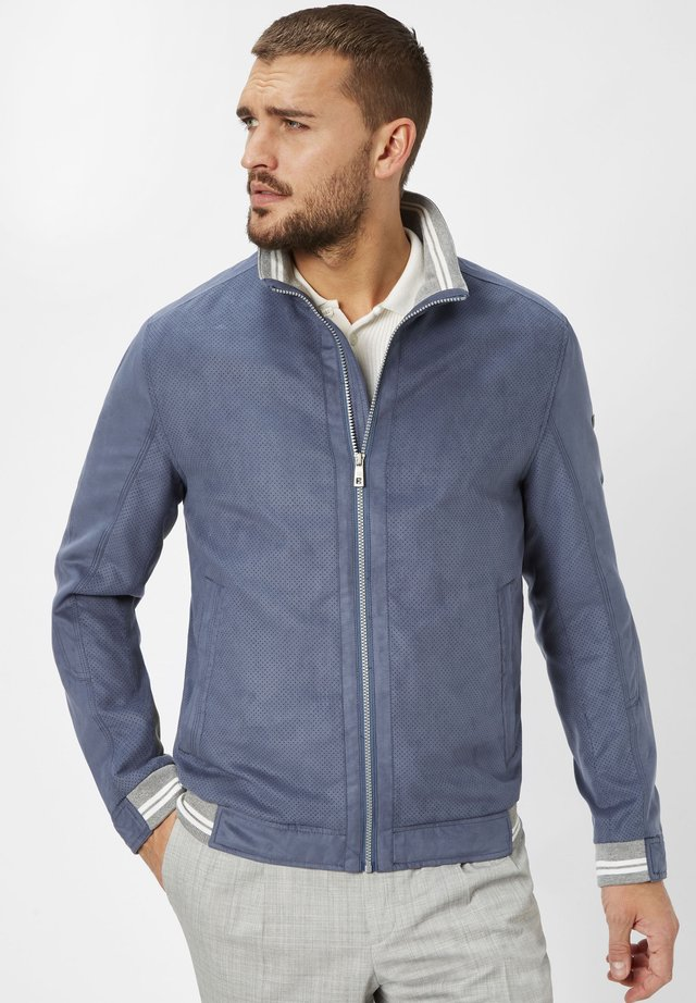 Summer jacket - dusty blue