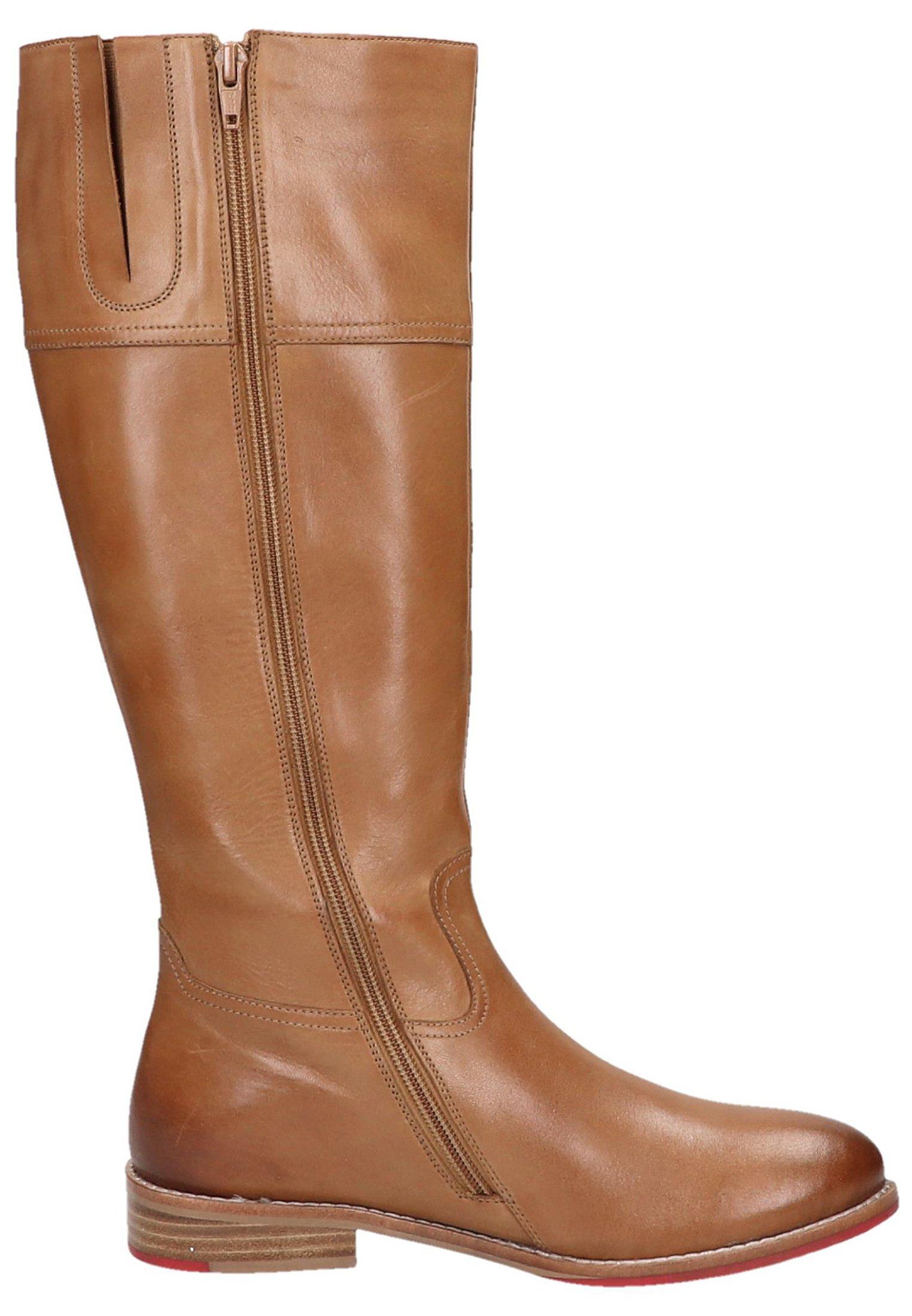 Sansibar Shoes Kozaki - medium brown
