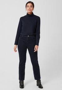 Triangle - Broek - navy - 1