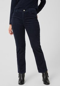 Triangle - Broek - navy - 0