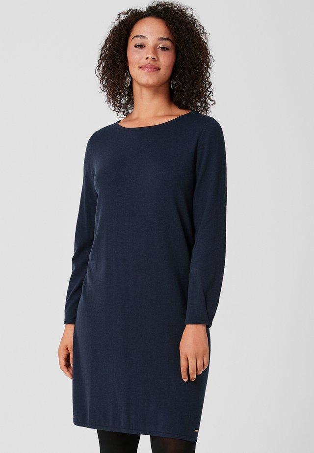 Gebreide jurk - dark blue