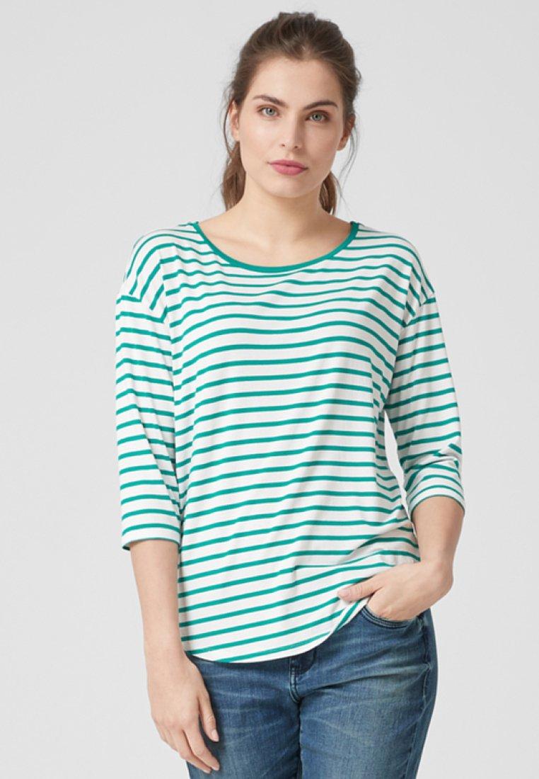 Triangle - Langarmshirt - green stripes