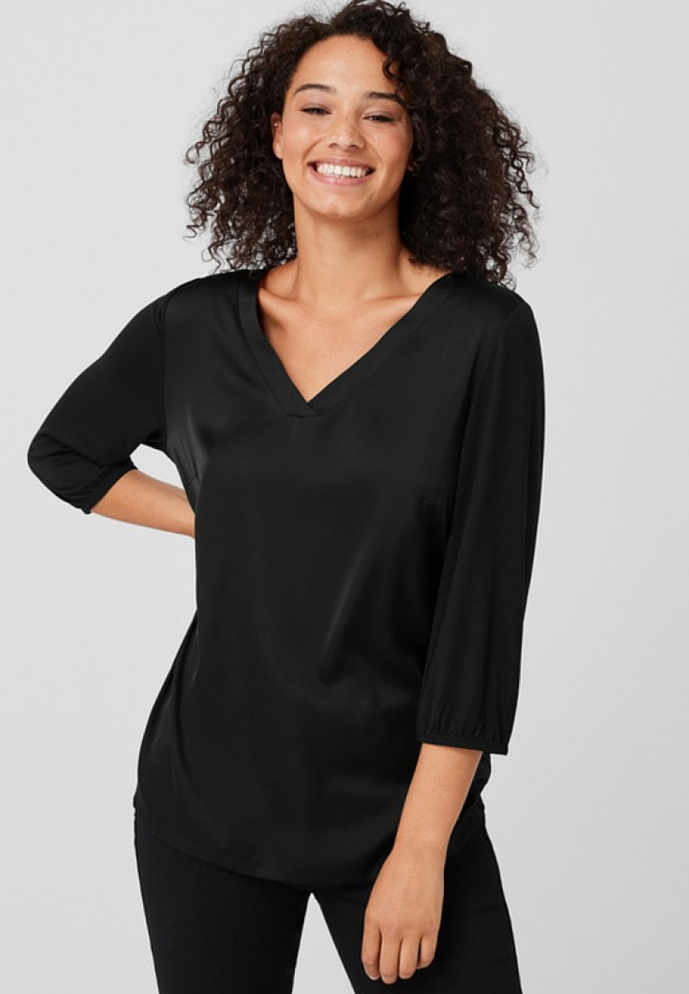 Triangle - Blouse - black