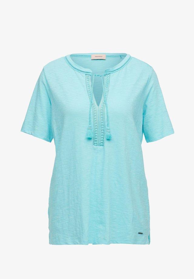 Basic T-shirt - aqua