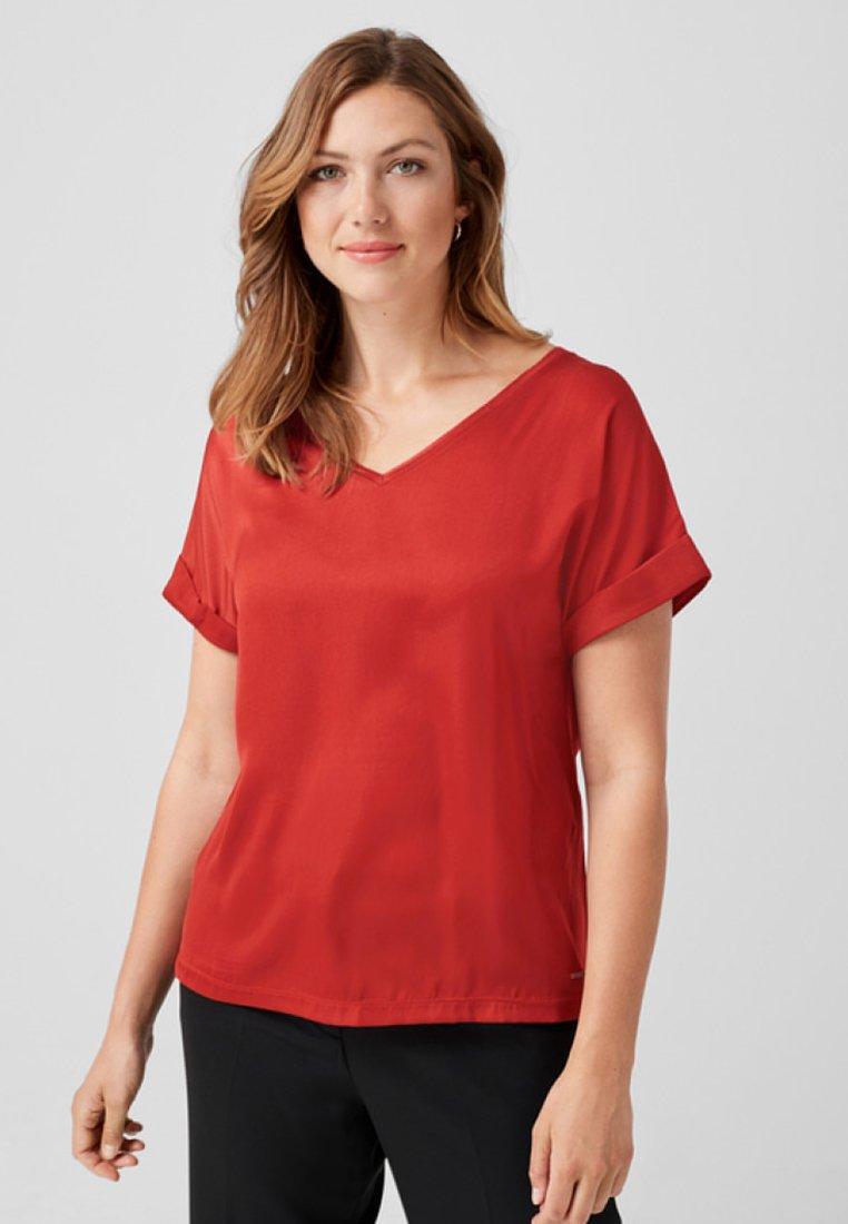 Triangle - T-Shirt print - burned orange