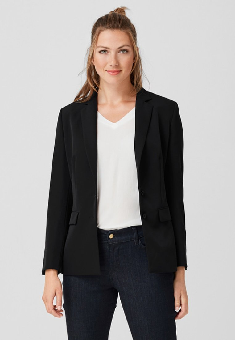 Triangle - LOOSE FIT - Blazer - black