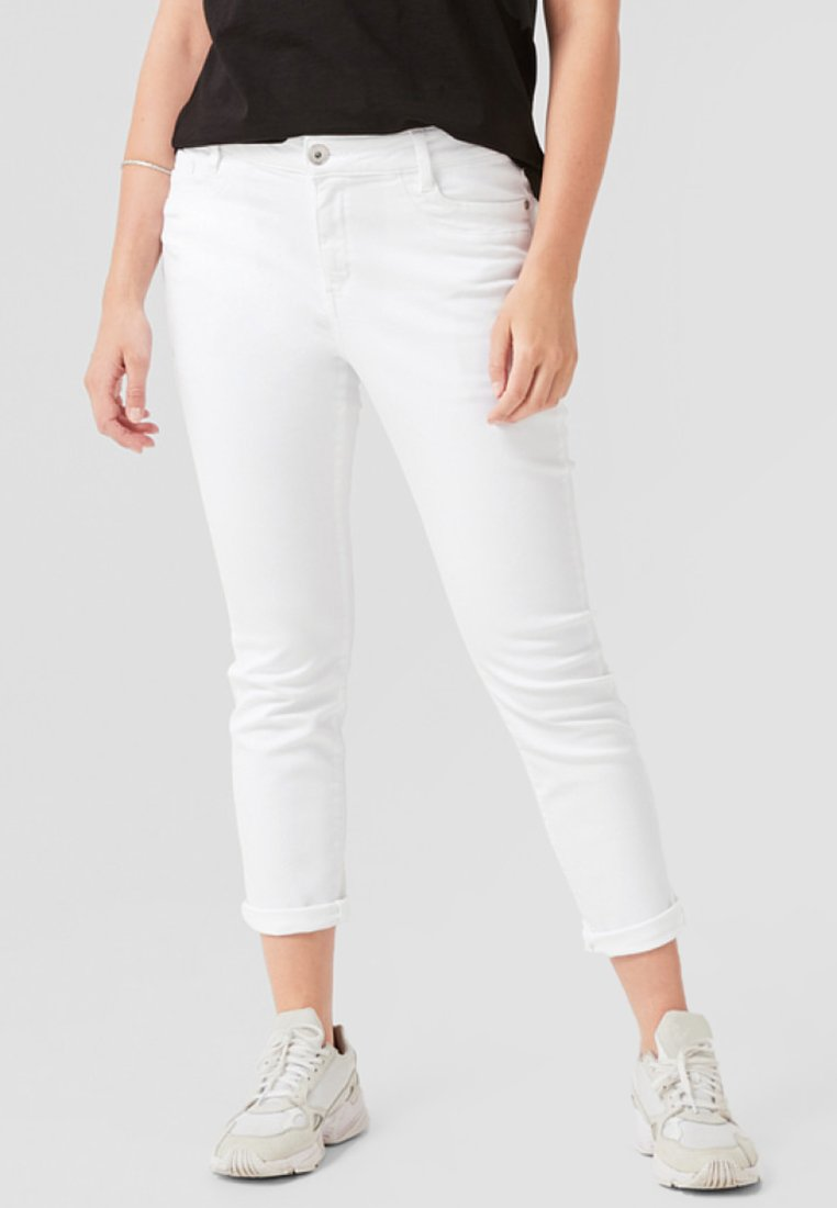 Triangle - CURVY EXTRA - Jeans Slim Fit - white