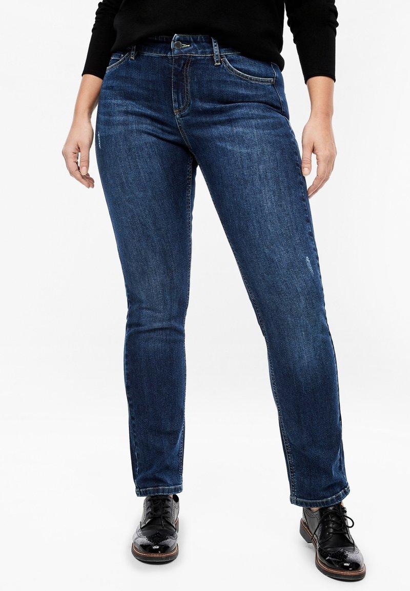 Triangle - Straight leg jeans - dark blue