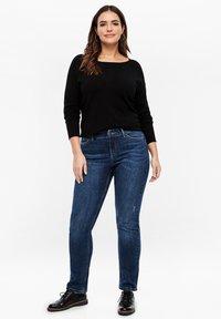 Triangle - Straight leg jeans - dark blue - 1