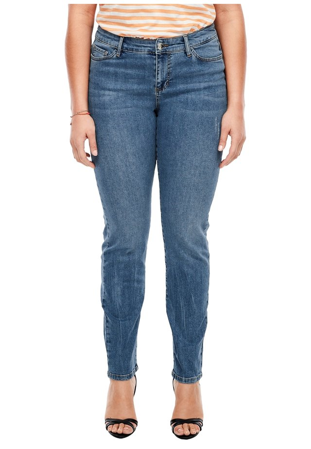 DENIM - Slim fit jeans - blue