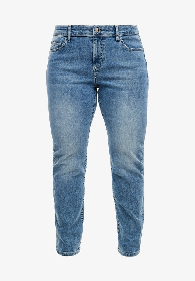 RELAXED FIT: TAPERED LEG-JEANS - Relaxed fit jeans - blue