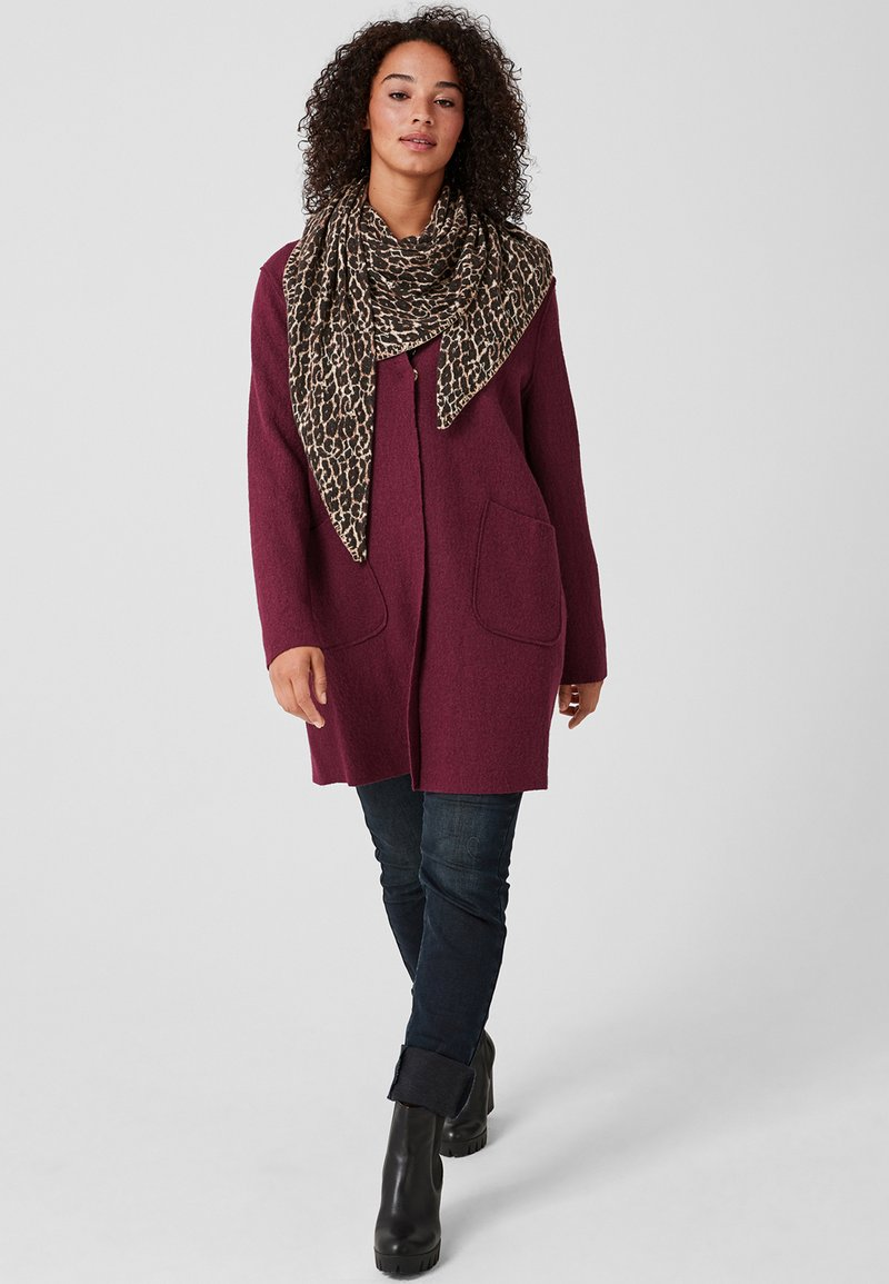 Triangle - Scarf - brown