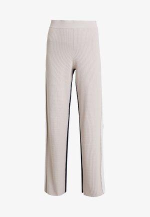 PANTALONE COLOR BLOCK - Kalhoty - base grey