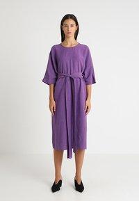 Stefanel - ABITO - Sukienka letnia - purple - 0