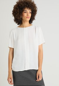 Stefanel - BLUSA - Blouse - off-white - 0
