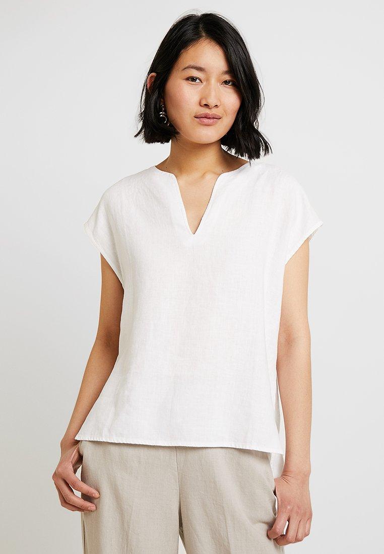 Stefanel - BLUSA  - Blouse - white