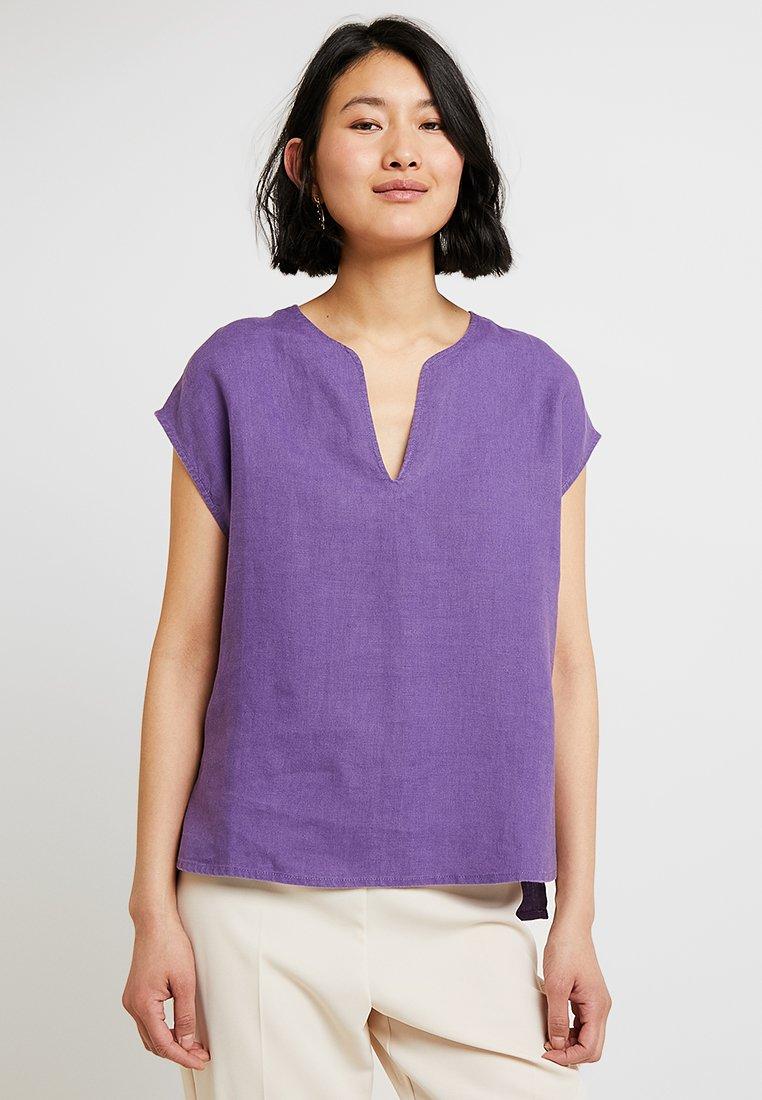 Stefanel - BLUSA  - Camicetta - purple