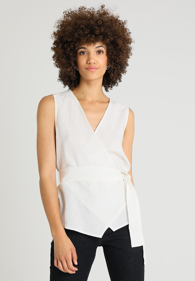 Stefanel - CINTURA - Blouse - off white