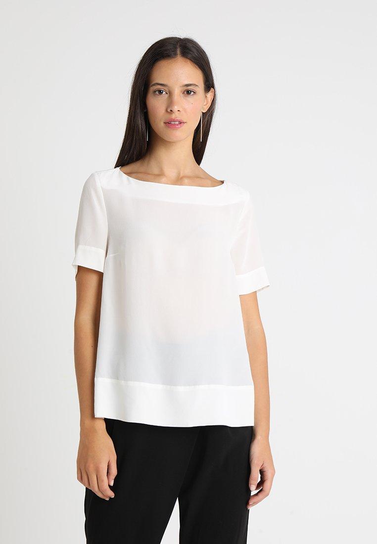 Stefanel - IN SETA - Bluzka - off white