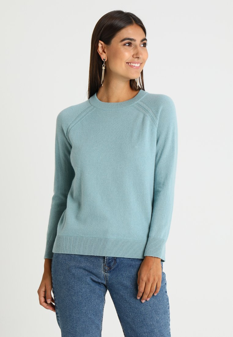 Stefanel - MAGLIA - Jumper - light blue