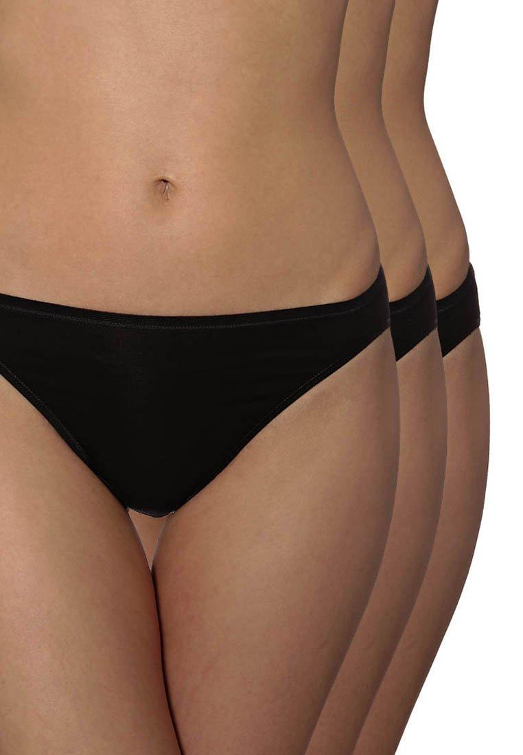 Schiesser - ESSENTIALS 3Pack - Kalhotky - black