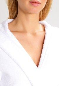 Schiesser - ESSENTIAL - Dressing gown - weiß - 3