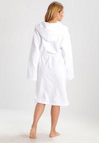 Schiesser - ESSENTIAL - Dressing gown - weiß - 2