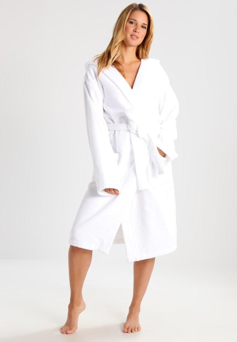 Schiesser - ESSENTIAL - Dressing gown - weiß