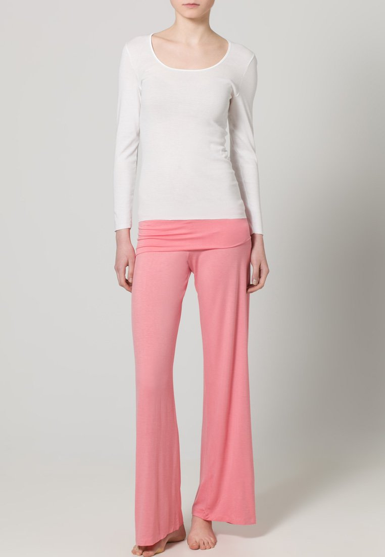 Schiesser - Pyjamashirt - white