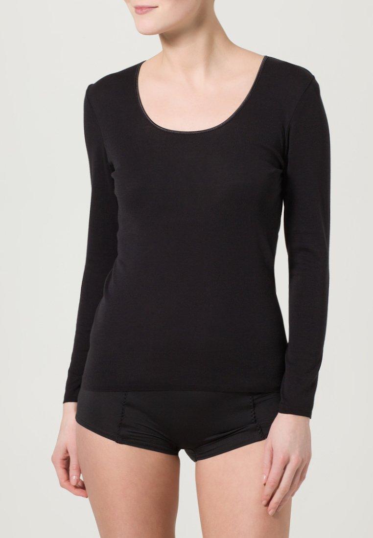 Schiesser - Pyžamový top - black