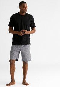 Schiesser - AMERICAN 2PACK - Camiseta interior -  black - 1