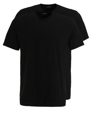 AMERICAN 2PACK - Undershirt -  black