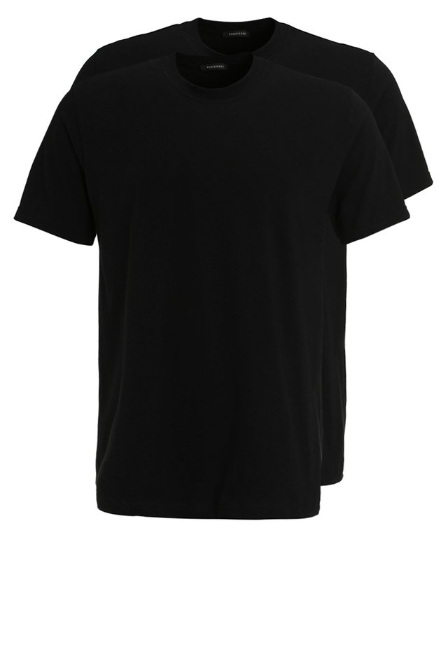 AMERICAN 2PACK - Camiseta interior -  black