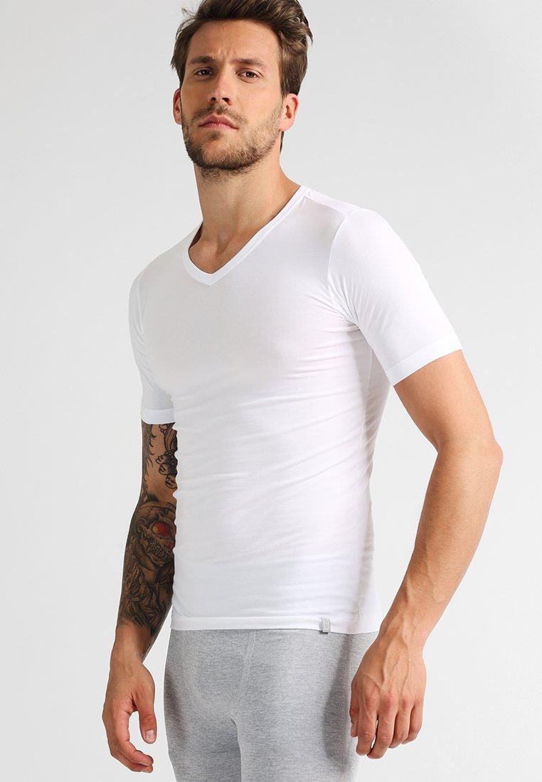 Schiesser - 95/5 - Unterhemd/-shirt - white