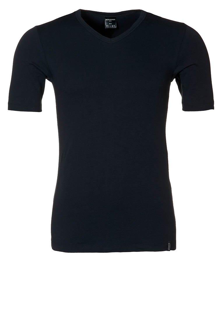 Schiesser - 95/5 - Camiseta interior - black