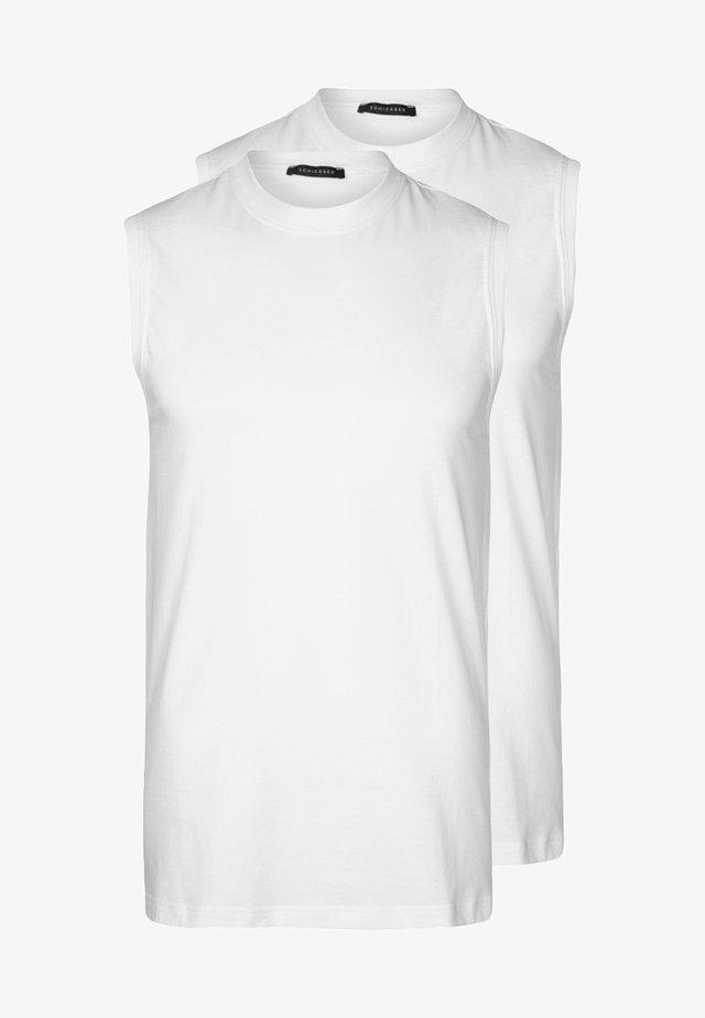 AMERICAN 2 PACK - Camiseta interior - weiß