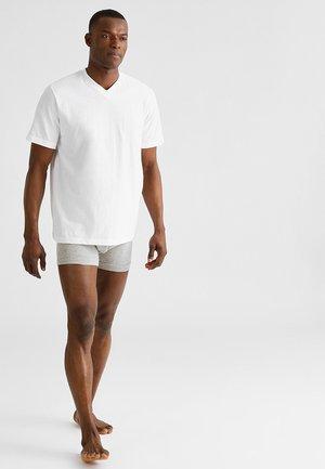 AMARICAN 2 PACK - Camiseta de pijama - white