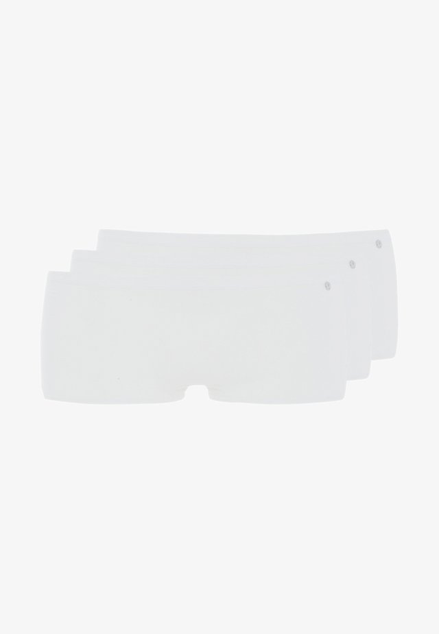 SHORT 3 PACK - Boxerky - white