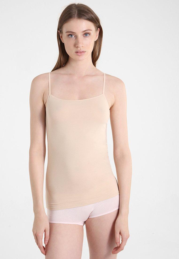 Schiesser - ESSENTIALS 2 PACK - Hemd - nude