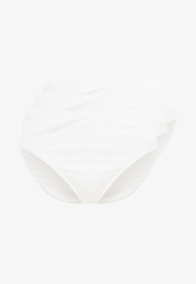 ESSENTIALS 3 PACK - Slip - white