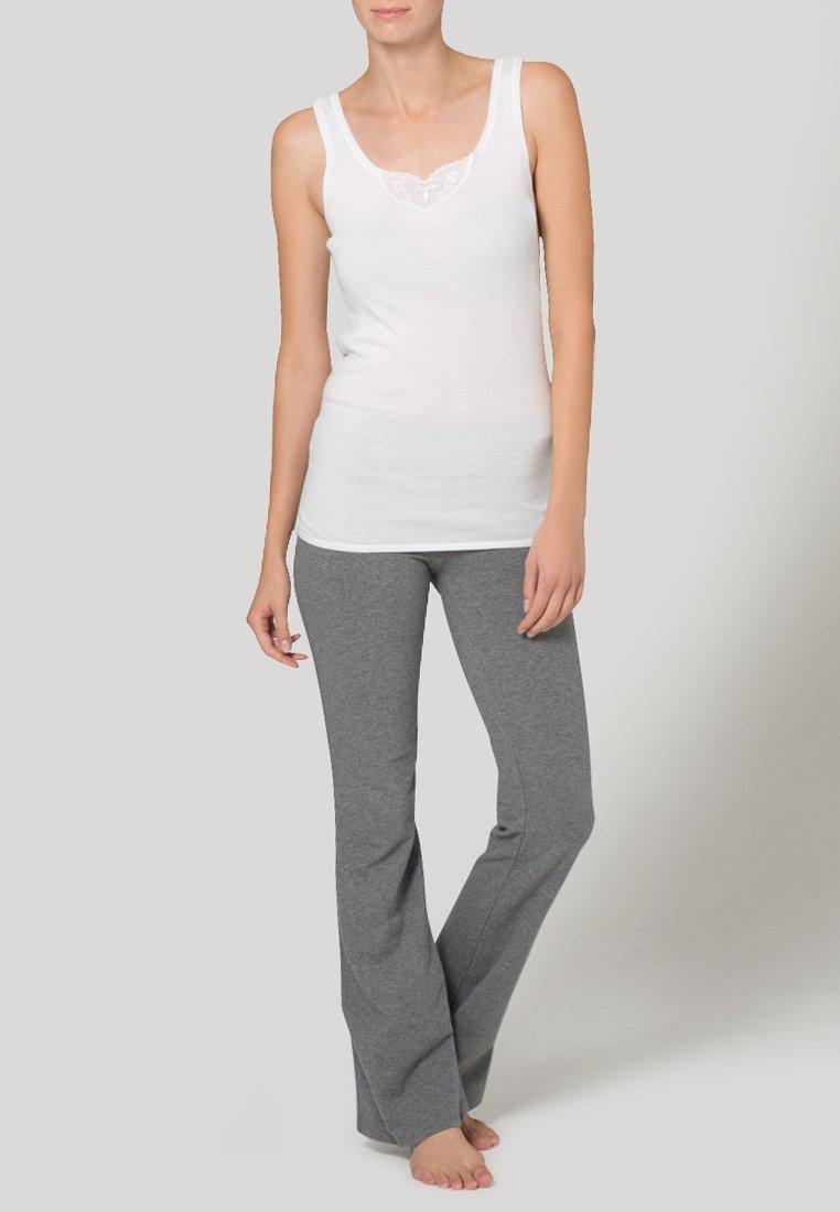 Schiesser - COTTON ESSENTIALS 2 PACK - Undershirt - white