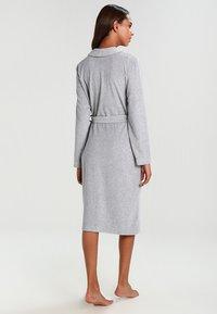 Schiesser - Dressing gown - grau melange - 2