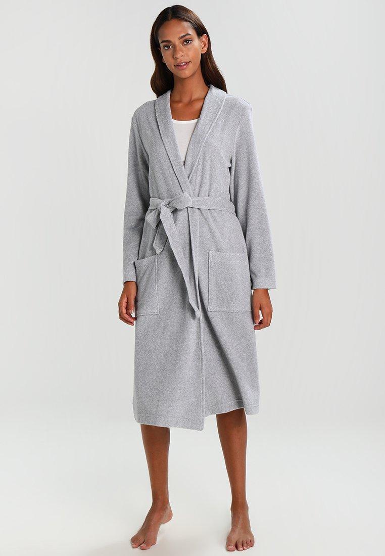 Schiesser - Dressing gown - grau melange