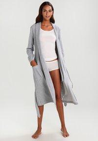 Schiesser - Dressing gown - grau melange - 1