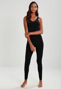 Schiesser - Pantaloni del pigiama - schwarz - 1