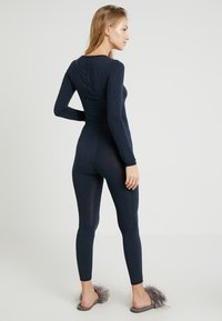 Schiesser - PERSONAL FIT LEGGINGS - Pyjamabroek - nachtblau - 2